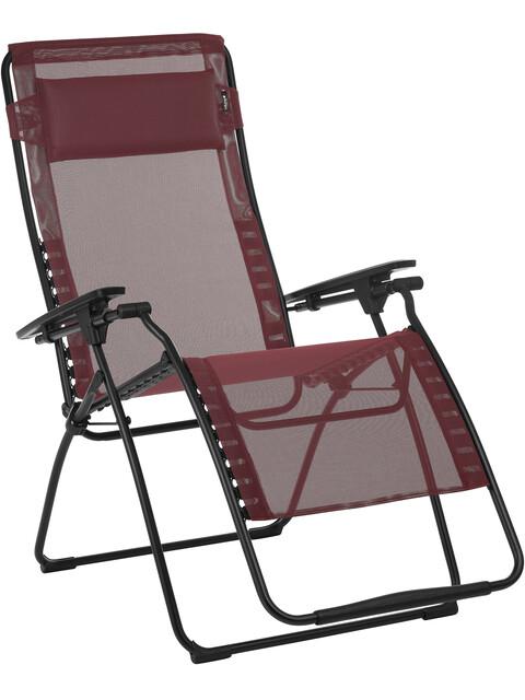 Lafuma Mobilier Futura XL - Siège camping - Batyline rouge/noir
